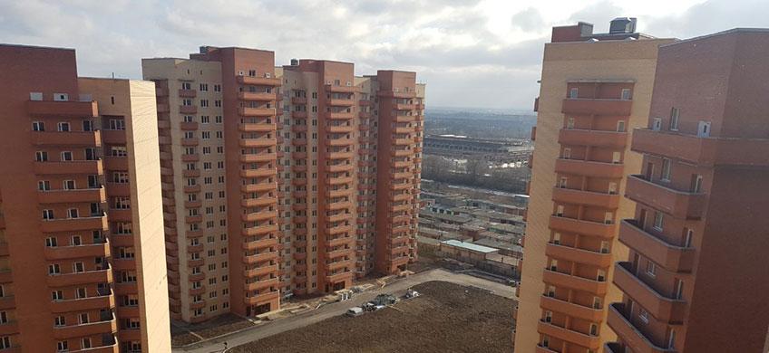 Жилой комплекс, 834 квартиры